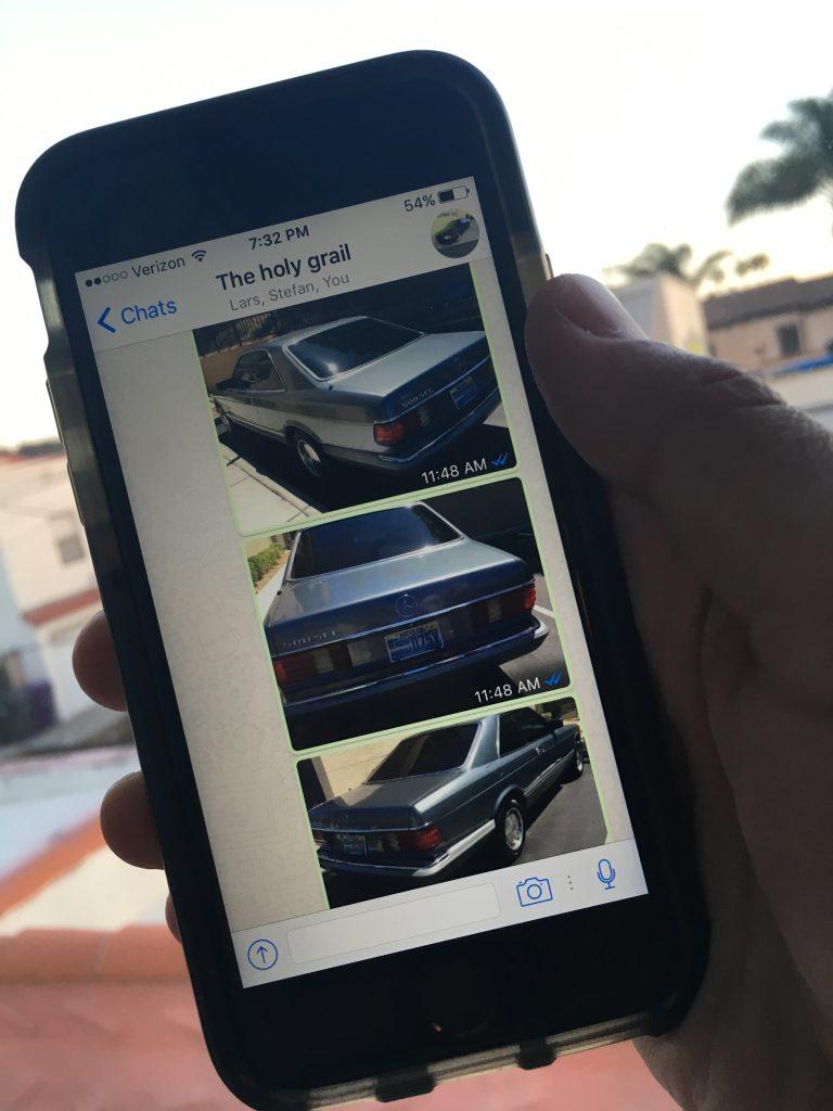 Wir können ein Auto Ihrer Wahl untersuchen und Ihnen Ergebnisse per Messenger oder WhatsApp zusenden.