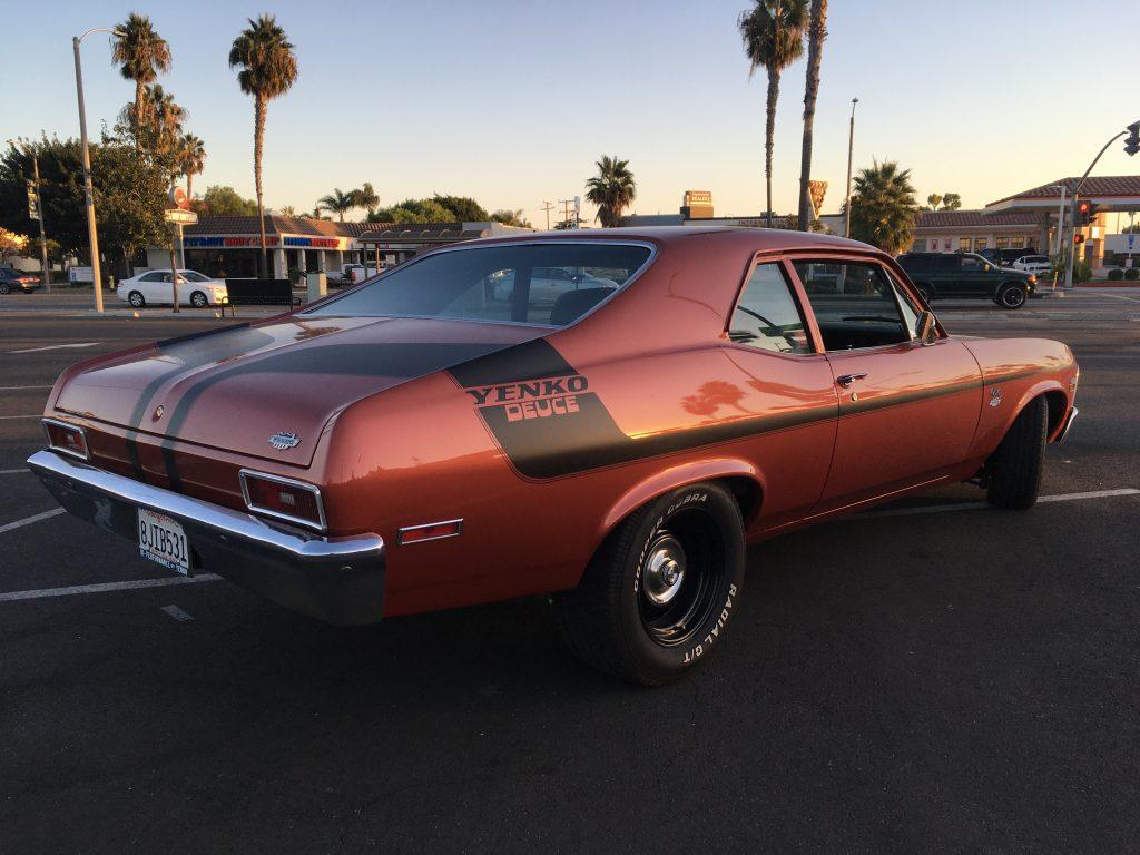 1970 Chevrolet Nova SS Yenko SC Tribute